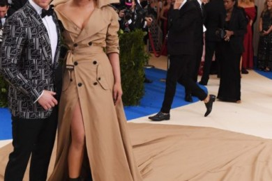 Priyanka Chopra with Nick Jonas at Met Gala