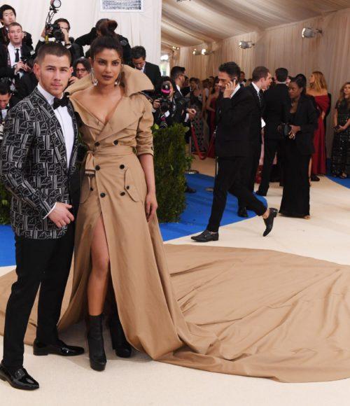 Priyanka Chopra with Nick Jonas at Met Gala