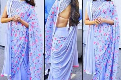 Sonam Kapoor's Interesting Saree Styles