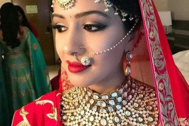 Bolra nose pin for brides