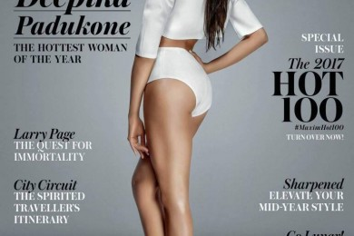 Deepika Padukone's hottest look on the cover of MAXIM magazine
