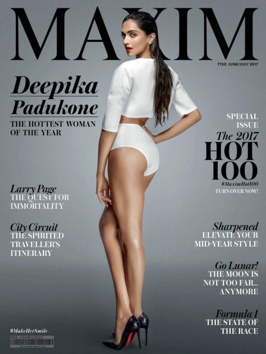Deepika Padukone hottest look on the cover