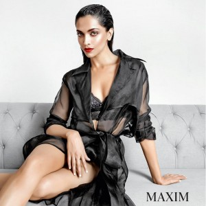 Deepika Padukone on MAXIM magazine
