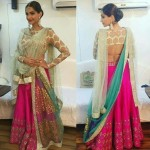 Different Ways To Drape Lehnga Dupatta