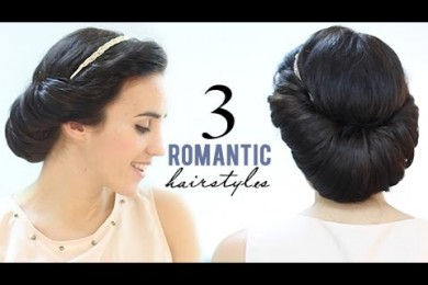 Romantic Hairstyles For A Party