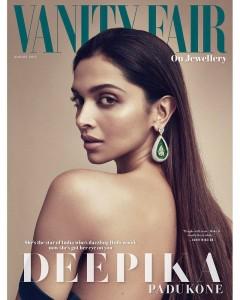 Deepika Padukone Graces The Cover Of Vanity Fair On Jewellery