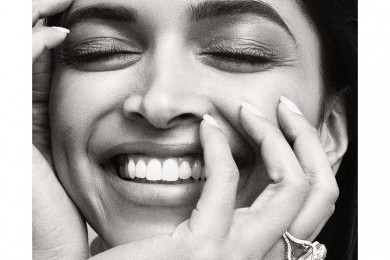 Deepika Padukone on the cover of Vanity