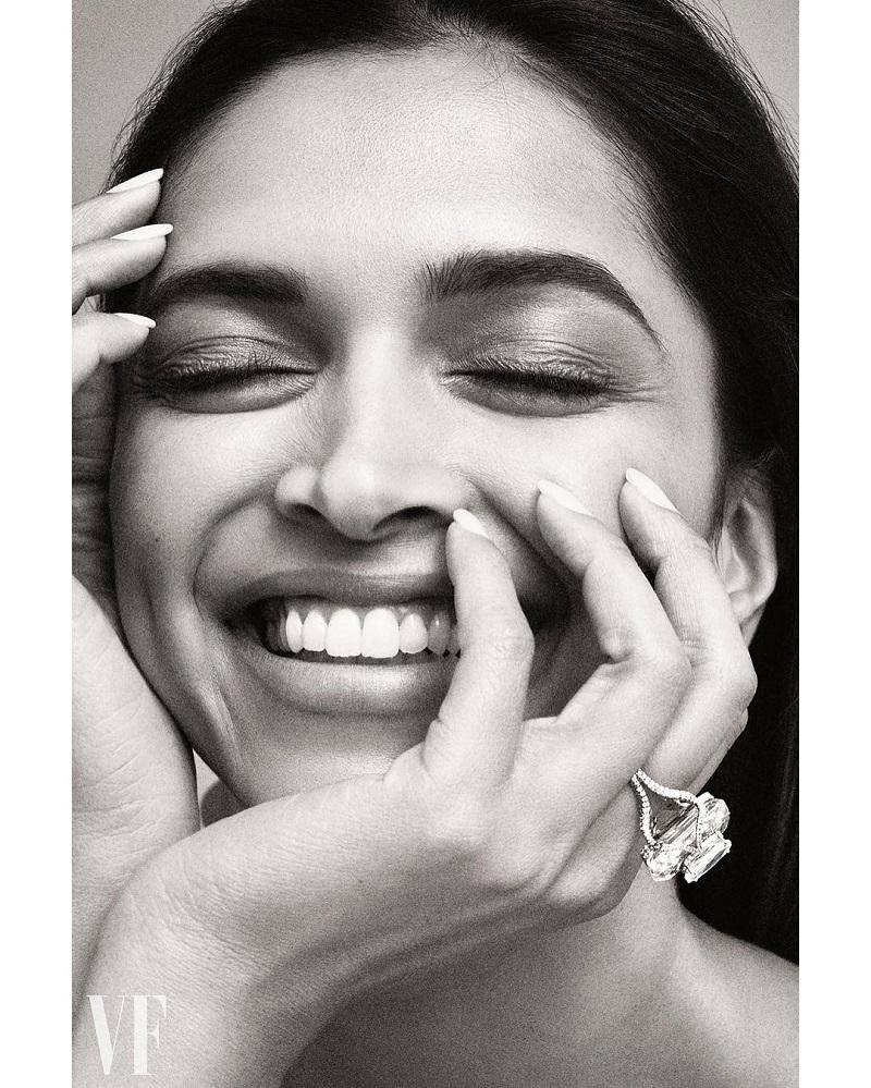 Deepika Padukone on the cover of Vanity