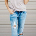 How To Style A Distressed Denim