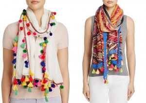 How To Wear POM POM Scarf