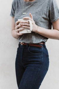 Basic T-shirts for wardrobe