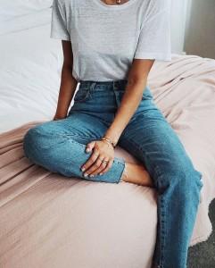 Basic denim for wardrobe