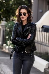 Black Jacket for wardrobe