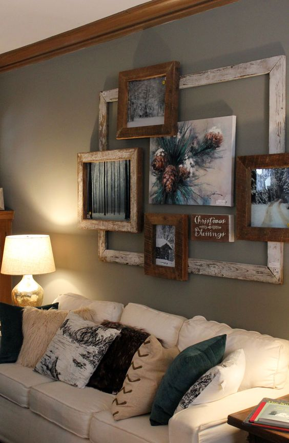 Decorating Walls Behind The Sofa - Threads - WeRIndia