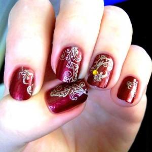 Nail art for Indian brides