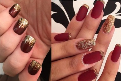 Nail art for Indian brides