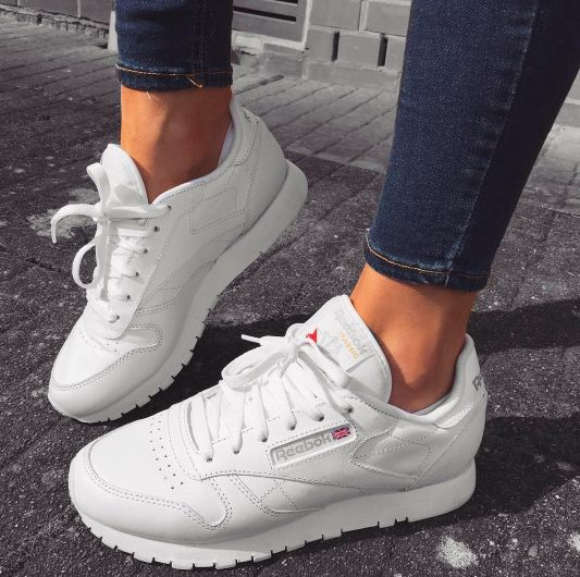 White sneakers for wardrobe