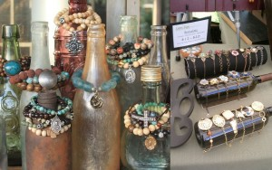 Bottle jewellery storage idea
