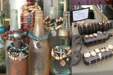 Bottle jewellery storage idea