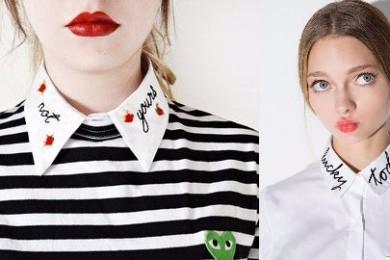 Calligraphic collars
