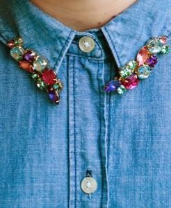 DIY Embellished Shirt