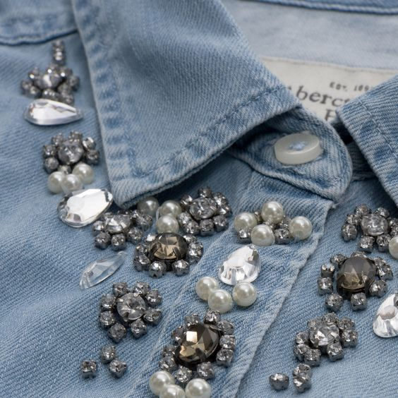 DIY Embellished Shirt