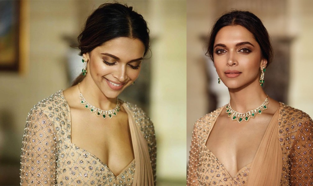Deepika padkone in nude makeup