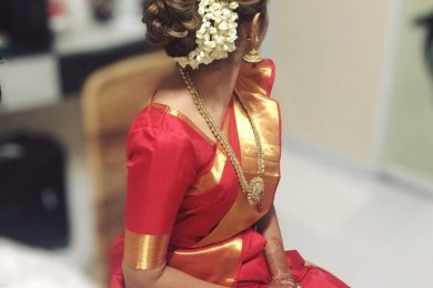Flowers for hair Indian Brides