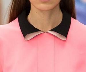 Folded collar style