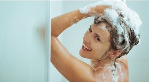 How to shampoo and condition hair