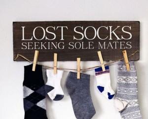 Life sacks with socks
