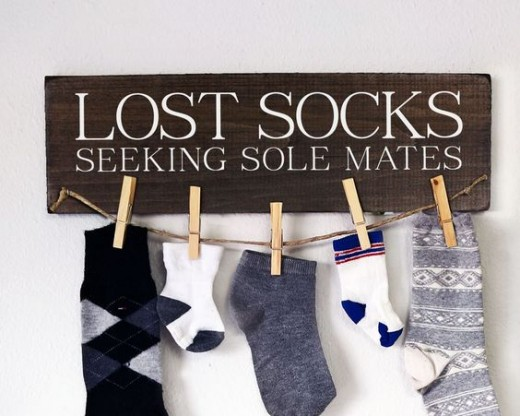 Life sacks with socks