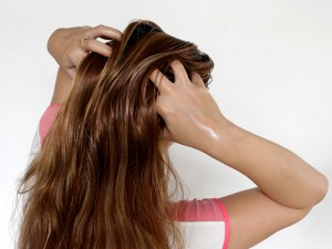 Oiling for healthy hair