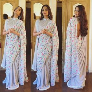 Soonam Kapoor in Floral saree