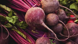 Beetroot as a hair color