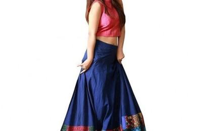 Convert Your Old Salwar To A Lehnga Skirt