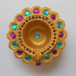 Easy Diya Painting Ideas For Diwali