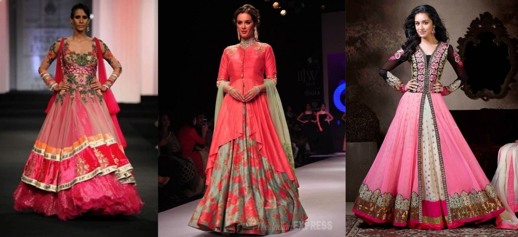 Lehnga suits for karvachauth