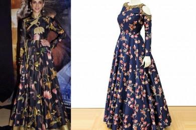 Printed dresses for Diwali