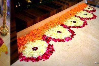Rangoli for Diwali decoration