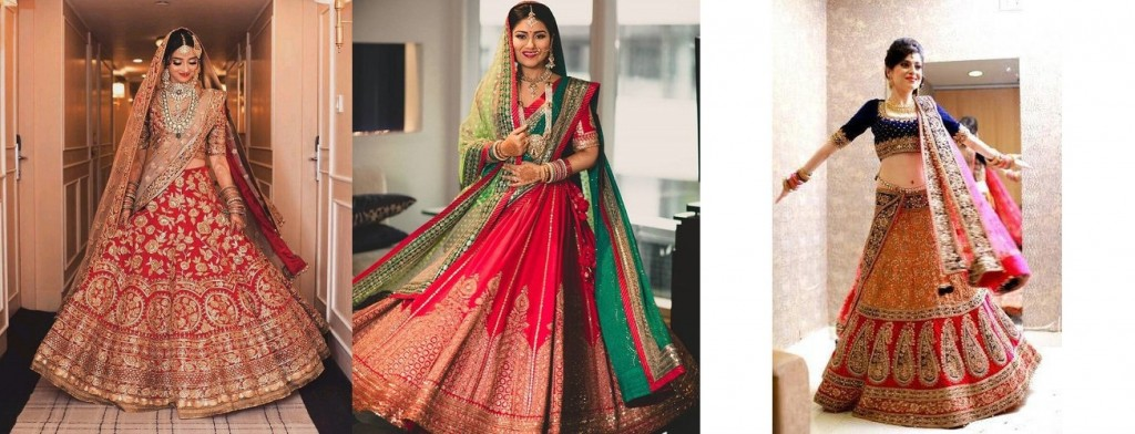 Resuse Bridal lehnga for karvachauth