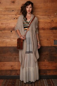 How to style a maxi dress for winters