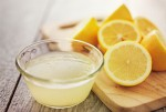 Lemon juice for open pores