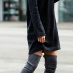 Thigh high boots for winters