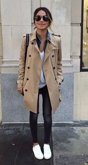 Trenchcoat for winters