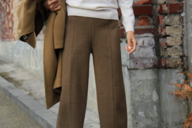Wide legged pants for winters