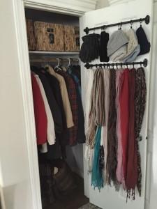Closet organising Ideas
