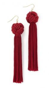 Knotted Tassel Earrings