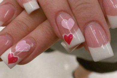 Valentine day Nail art