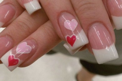 Valentine day Nail art